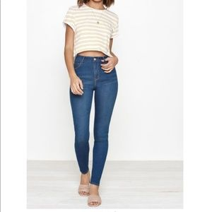 PACSUN high rise jegging 27 S